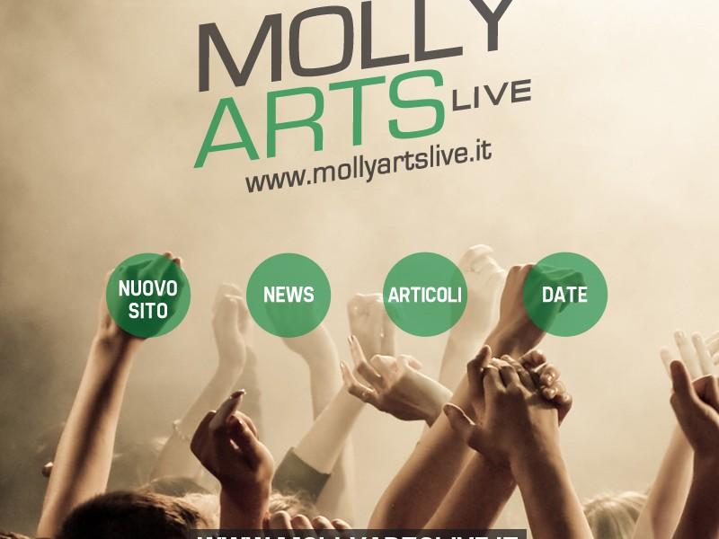 Molly Arts Live adesso online!